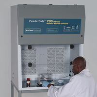 Cabina PowderSafe™ Tipo C